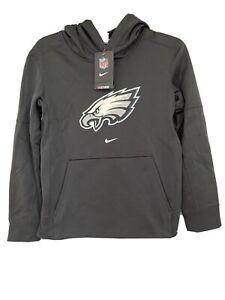 NWT Nike NFL Onfield Phila Eagles Hoodie Pullover Sweatshirt Youth M 10/12