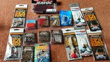 VARIOUS SEA FISHING ANGLING READY RIGS AND TRACE MAKING BITS BRAND NEW IN PACKS