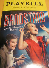 BANDSTAND Playbill Broadway LAURA OSNES COREY COTT Broadway Musical PREMIERE