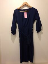 Best Fashion Collection Blue Dress With Belt BNWT Size M - <E4279