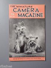 R&L Vintage Mag, The Miniature Camera November 1951, Langham Ultralite /Darkroom