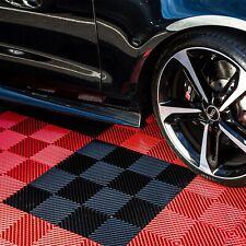 "FlooringInc Nitro Vented Garage Floor Tiles   Snow Water Drainage   12""x12"""