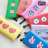 BTS BT21 Official Authentic Goods Flat Pen Pouch By Kumhong Fancy + Tracking Num