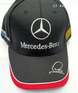 Mercedes AMG F1 Lewis Hamilton Driver Baseball Cap Black/Red ADULT One Size