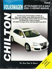 2006 07 2008 2009 2010 2011 VW Jetta Rabbit GTI Golf Chilton Repair Manual 29502