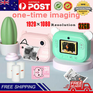 "1080P Mini Children Camera Kids Digital Camera HD 2.4"" Protective Case Gifts Toy"