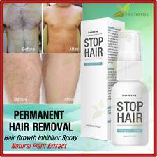 Men Women Hair Removal Spray Stop Growth Inhibitor Chest Legs Uderarm Arms 20mL