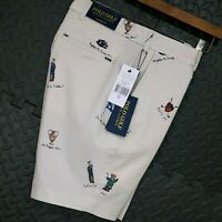 ⭐ Mens Polo Ralph Lauren The Biltmore tailored fit golf shorts stretch size W30