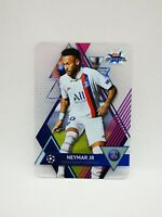 Topps crystal 2019-20 carte card champions league PSG Paris #76 NEYMAR JR