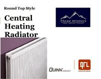 Quinn Round Top Central Heating Radiator 400 x 800 Type 11 Q11408RT