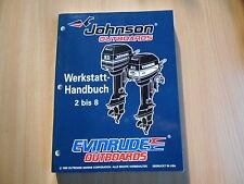 Werkstatthandbuch Johnson Evinrude Außenborder 1996 2 2.3 3 3.3 4 5 6 8 PS