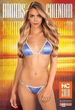 2018 Hooters Calendar, BONUS Poster , Food Coupons.... NEW in Sealed Bag