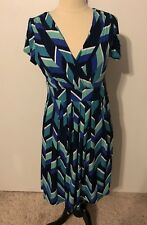 JESSICA HOWARD DRESS VGC SZ 10, Multi Color