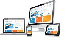 Professional Custom Web site design + Domain + Hosting  Wordpress Website