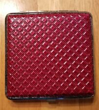 Eclipse Red Kings Cigarette Case Holds 20 Cigarettes