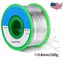 63/37 Tin Lead Rosin Core Flux 0.8mm Diameter Soldering Solder Wire 100g Reel