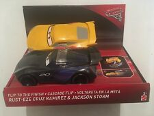 NEW Disney Pixar Cars 3 Flip to the Finish Rust-eze Cruz Ramirez & Jackson Storm