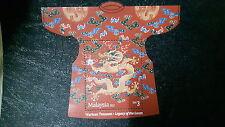 Malaysia Year of Dragon RM3 MS stamp  2012