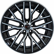 Set of 4 GWG Wheels 18 inch Black FLARE Rims fits CHEVY MALIBU LTZ LIMITED 2016
