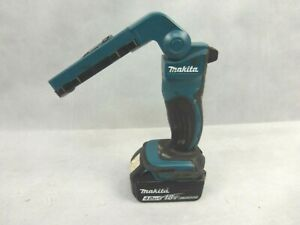 Makita DML801 Cordless 18v Power LED Torch Used Condition With 4 Ah Battery