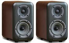 Wharfedale D310 Speakers - Walnut PAIR Compact Desktop Bookshelf Loudspeakers