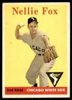 1958 Topps Nellie Fox Chicago White Sox #400