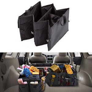 Car Trunk Rear Seat Travel Organizer Storage Holder Bag Accessories 600D Oxford