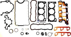 Engine Full Gasket Set-VIN: X, OHV, 12 Valves DNJ FGS4023