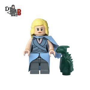 Game of Thrones Daenerys Targaryen Minifigure. Made using LEGO & custom parts.