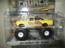Miniature 1/64 Greenlight Monster Truck 1972 Chevrolet C 20 Big Bear