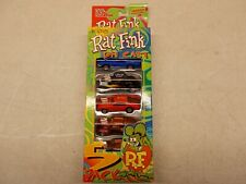 "Racing Champions Street Wheels ED ""Big Daddy"" Roth Rat Fink Die Cast 5 Pack"