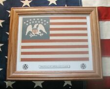 Framed 15 Star, American Flag of Lewis and Clark...1804