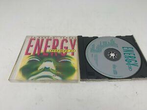 Various – Energy Rush II - UK 20 track Compilation CD Album (1992) TC 1992 RAGE