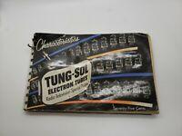 Vintage 1953 Tung-Sol Electron Tube Characteristics Manual Radio Television