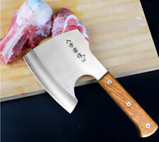Stainless Steel Cleaver Knife Axe Cut Chopping Bone Meat Large Kitchen home