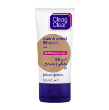 CLEAN & CLEAR COVER CORRECT BB CREAM LIGHT SPOTS REDNESS CONCEALER OIL-FREE 50ml