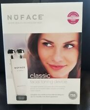 NuFace Microcurrent Facial Toning device face lift fine lines smoother skin