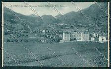 Aosta La Thuile Alpini cartolina QQ5922