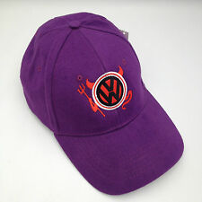 VW Devil Purple Embroidered Cap