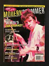 Modern Drummer Magazine January 2007 The Who's Zak Starkey