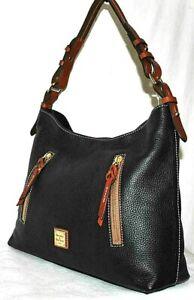 Dooney & Bourke Cooper Hobo Bag, Black - $298