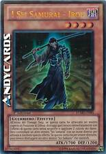 I Sei Samurai - Irou ☻ Ultra Rara ☻ RYMP IT093 ☻ YUGIOH ANDYCARDS