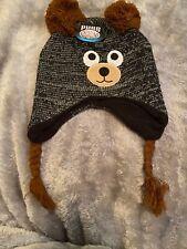 Pugs - Critter Beanie - Gray Bear