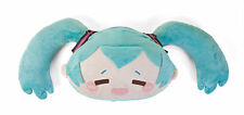 Hatsune Miku Relieved Face Fluffy Plush Toy