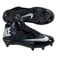 Nike Lunar Code Pro D 34 Mid Black Football Cleats 579668 002 MSRP