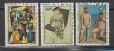 Mali 1967 Picasso Paintings Sc C46-C48 Cplte mint never  hinged