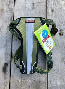 New! Comfort Reflective Runner KONG Padded Dog Puppy Harness Girth: 20-30in. M