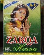 Zarqa dark Red natural Henna Powder 5 x 100g (Hair & Body)