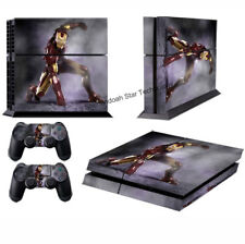 Iron Man II 60 Vinyl Decal Sticker For PS4 Playstation 4 Console&Controller Skin