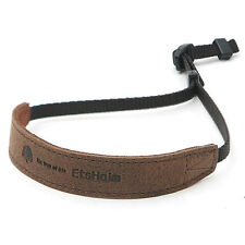 MATIN Vintage Wrist Leather Strap [Brown] for D-SLR Mirrorless Camera Cell Phone